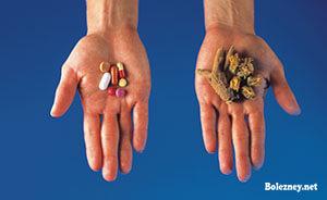 Что предпочесть ‒ лекарства или травы?
