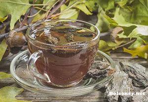 Чай от поносаиз дубовойкоры