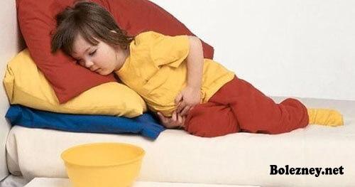Рвота у детей с поносом и температурой: причины, способы лечения