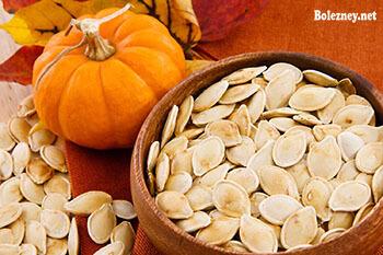 Семена тыквы при глистах