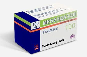 Мебендазол при энтеробиозе