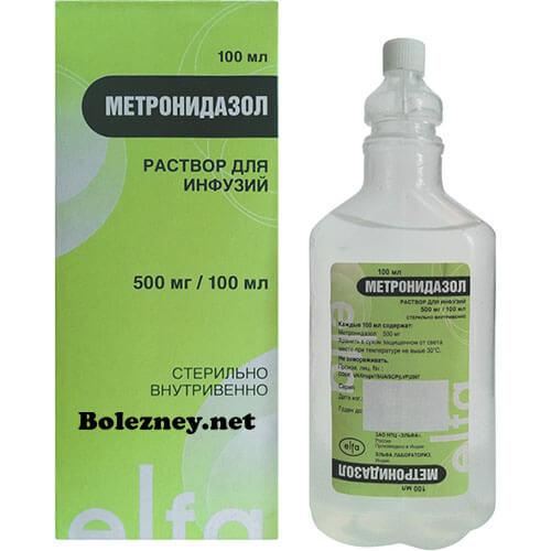Метронидазол в капельницах. От чего помогает и как применять?