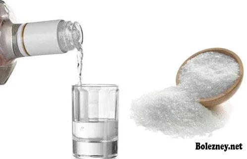 Водка с солью от поноса: как приготовить и как правильно принимать?