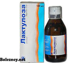 Лактулоза - одно из самых популярных слабительных