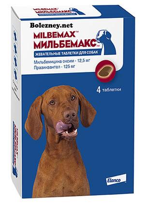 Состав и форма выпуска препарата Мибельмакс для собак