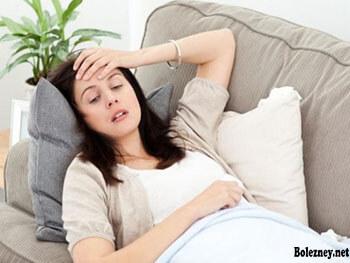 Как обезболить боль в желудке при беременности?