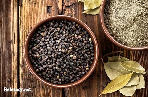 Чёрный перец от диареи. Рецепты, отзывы и противопоказания