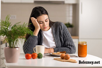 При резком снижении веса Обязательно следует принимать препараты, стимулирующие аппетит.